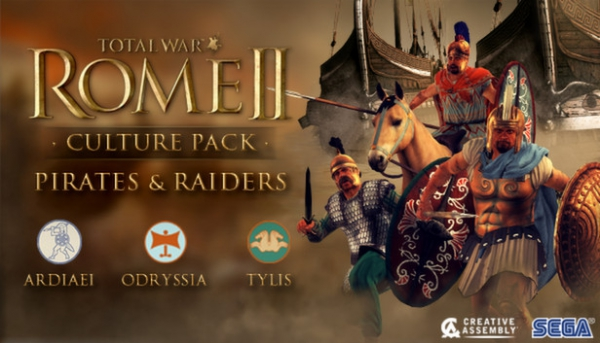 Total War: Rome 2 DLC Pirates and Raiders Трейлер