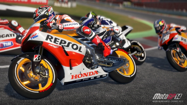 MotoGP 14 Launch-трейлер