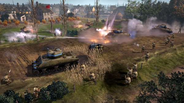 Company of Heroes 2: The Western Front Armies Launch-трейлер