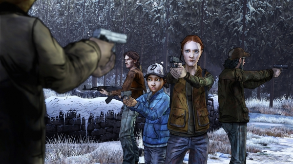 The Walking Dead: Season Two - Amid the Ruins Трейлер + дата выхода.