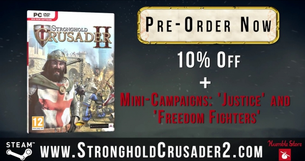 Stronghold Crusader 2 Трейлер предзаказа