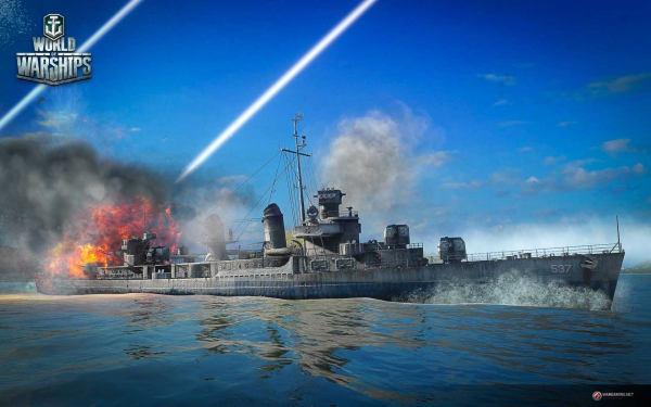 World of Warships Демонстрация порта