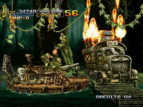 Metal Slug 3 Спешит на консоли PlayStation