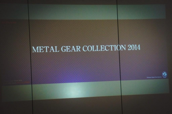 Хидео Кодзима Тизерит Metal Gear Collection 2014