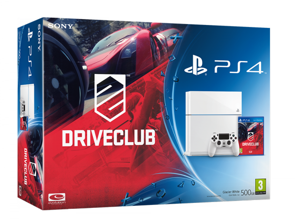 PlayStation 4 Два новых бандла с DRIVECLUB